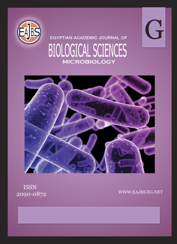 Egyptian Academic Journal of Biological Sciences, G. Microbiology